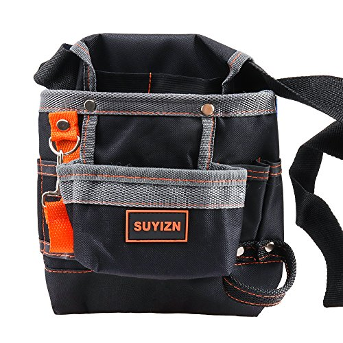 SUYIZN 8 Pockets Tools Belt, Electrician Tool Pouch with Adjustable...