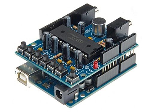 VELLEMAN - VMA02 montiert Audio Shield für Arduino 840542