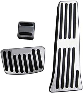 GLEETABANC Accesorios para el automóvil Pedales de Freno Pedal Acelerador Pedal Cubiertas Cubiertas de Cojines,