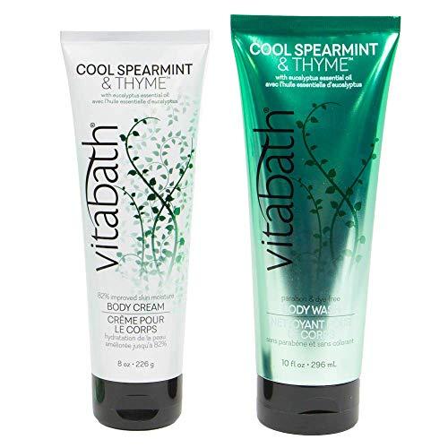 Vitabath Cool Spearmint & Thyme Body Wash