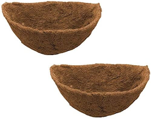 Yaootely Half Round Max Inexpensive 56% OFF Coco Liner Fib Planter Wall Circle