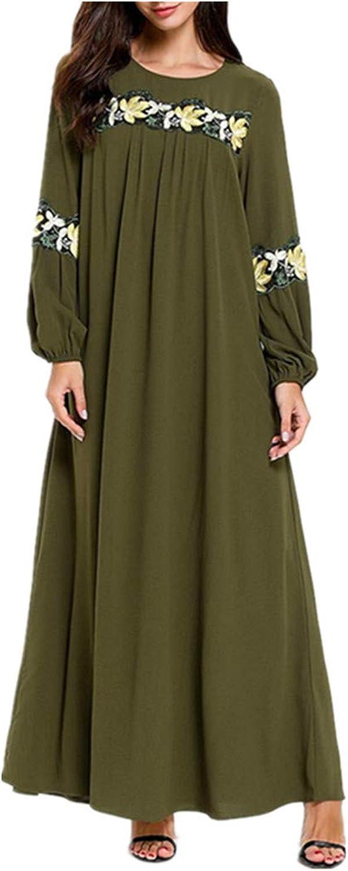 Zhbotaolang Muslim Arab Modern Long Robe Malaysia Ramadan Worship Dress