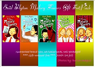 Enid Blyton MALORY TOWERS Book Set / Collection / Pack : (Book 1-5) 1. First Term at Malory Towers 2. Second Form at Malory Towers 3. Third Year at Malory Towers 4. Upper Fourth at Malory Towers 5. In the Fifth at Malory Towers (RRP: 24.95) (Malory Towers