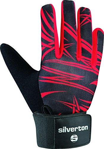 Silverton Erwachsene Handschuhe Cross Bone, schwarz/Rot, XL