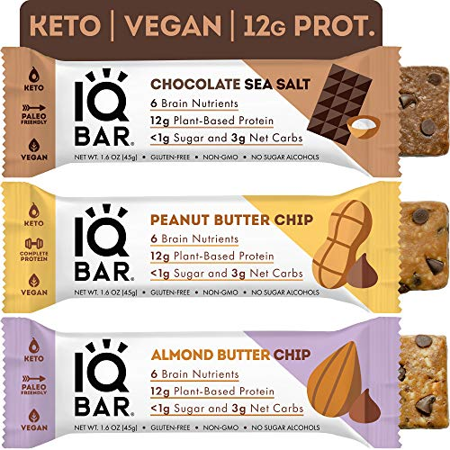 IQBAR Keto Protein Bars