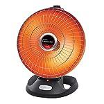Presto HeatDish Plus Parabolic Heater 120v AC, 1000 Watts