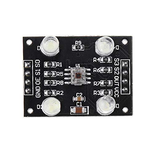 LYFEI TCS3200 Farbsensor Farberkennung-Modul for Arduino DIY Modul DC 3-5V Eingang Experimentelles Modul
