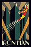 Marvel - Deco - Iron Man - Comic Poster - Größe 61x91,5