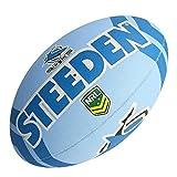 Steeden NRL Ballon de rugby Cronulla Sutherland Sharks Supporter 2020 Bleu/blanc – 5