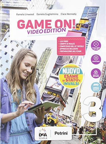 Game on! Student's book & workbook. Con Maps. Ediz. video. Per la Scuola media. Con e-book. Con espansione online. Con DVD-ROM. Con File audio per il download (Vol. 3)
