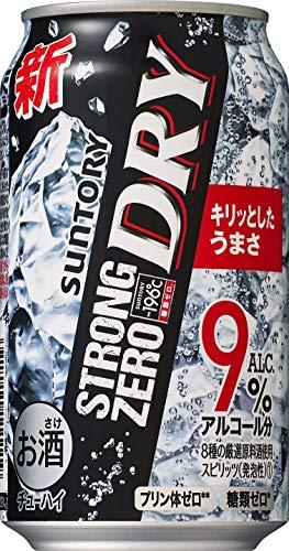 サントリー チューハイ-196℃ストロングゼロ DRY [ チューハイ 350ml×24本 ]