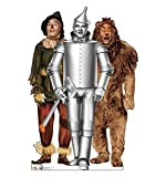 Cardboard People Tin Man, Cowardly Lion and Scarecrow Life Size Cardboard Cutout Standup - The Wizard of Oz 75th Anniversary (1939 Film)
