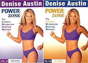 Denise Austin - Power Zone - Toning Workout Vol. 2 / Abs Workout Vol. 3 (2 Pack)