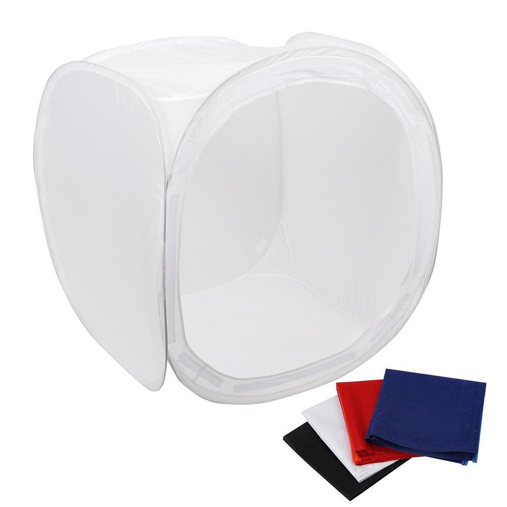16 40x40cm Photo Studio Shooting Tent Light Cube Box SoftBox Kit+4 Backdrops
