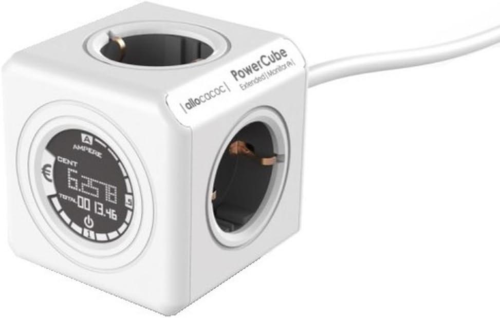 Allocacoc Powercube Extended Monitor 1 5m Baumarkt