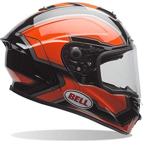BELL Helme Street 2017Star Erwachsene Helm, Pace schwarz/orange, Größe S
