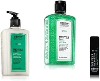 Bath & Body Works - C.O. Bigelow – MENTHA – 3 PC set - Body Lotion, Vitamin Body Wash & Lip Balm Stick