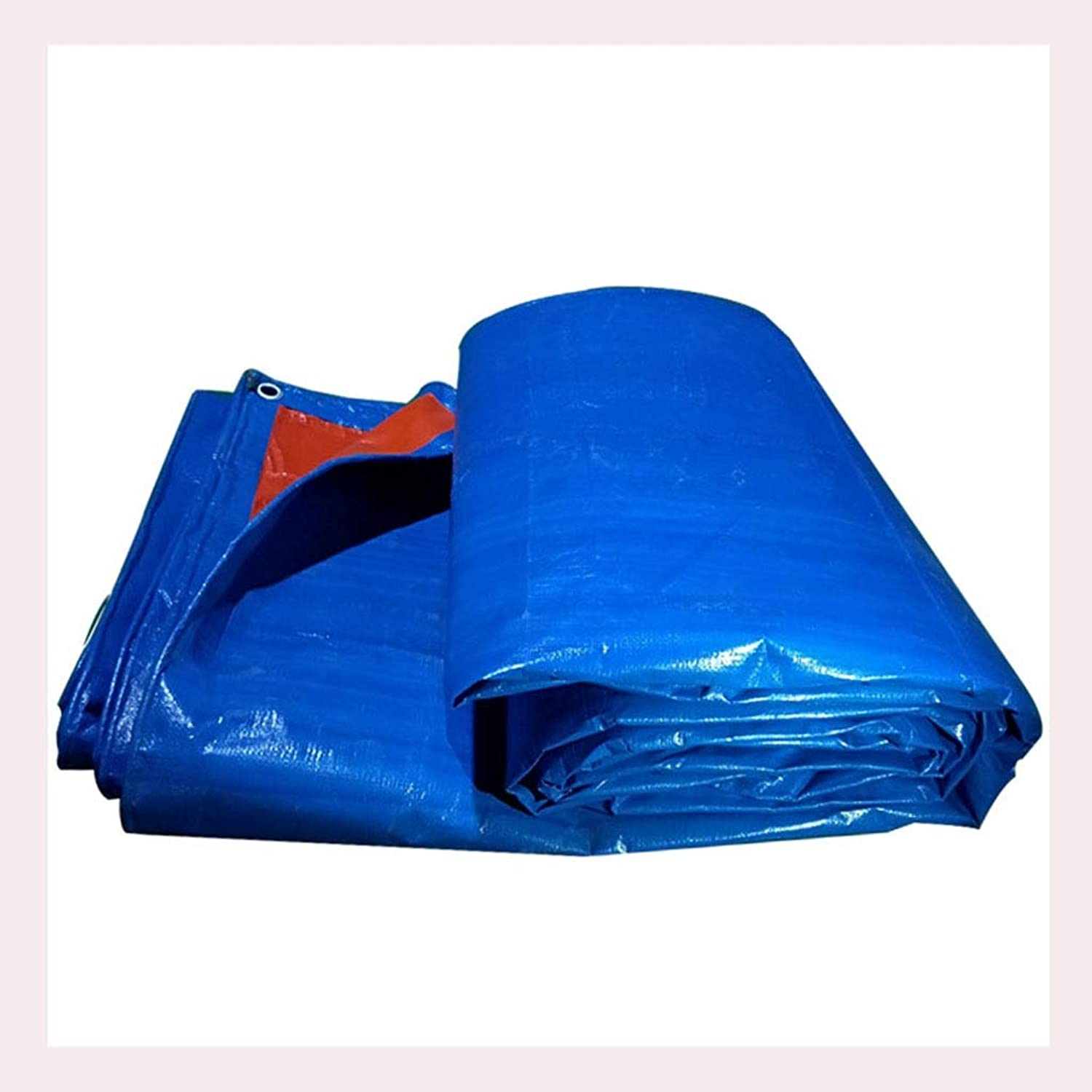 Rainproof Cloth Waterproof Sunscreen Tarpaulin Thickened PE Tarpaulin Outdoor Truck Tricycle Poncho Rain Shade Plastic Cloth 180g   M2 (color   3  4M)