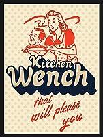 あなたを喜ばせるキッチンレンチ メタルポスタレトロなポスタ安全標識壁パネル ティンサイン注意看板壁掛けプレート警告サイン絵図ショップ食料品ショッピングモールパーキングバークラブカフェレストラントイレ公共の場ギフト