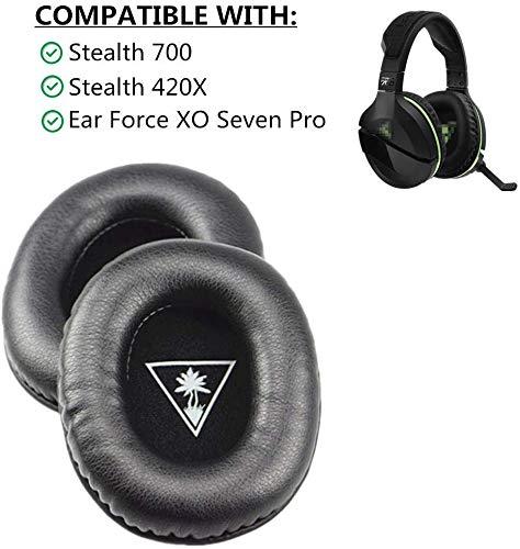 Almohadillas de repuesto para auriculares Turtle Beach Stealth 700 420x Ear Force XO Seven XO 7 XO7 Pro Gaming Headset