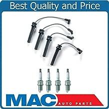Mac Auto Parts 157807 100% New Spark Plug Wire Set + NGK Plugs for 02-06 Mini Cooper 1.6L