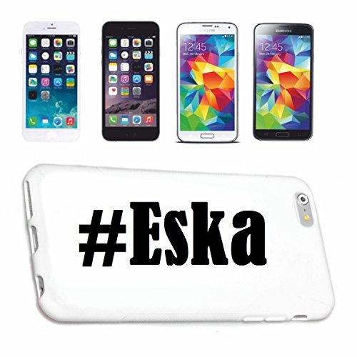 Reifen-Markt Handyhülle kompatibel für iPhone 6 Hashtag #Eska im Social Network Design Hardcase Schutzhülle Handy Cover Smart Cover