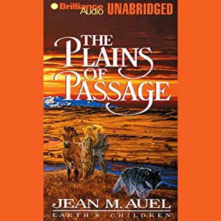 The Plains of Passage audiobook cover art