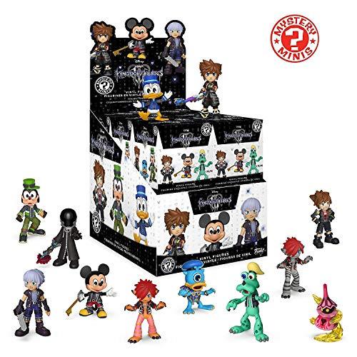 Funko 34064 Kingdom Hearts 3: PDQ (CDU 12) Mystery Mini Blind Box, Multi