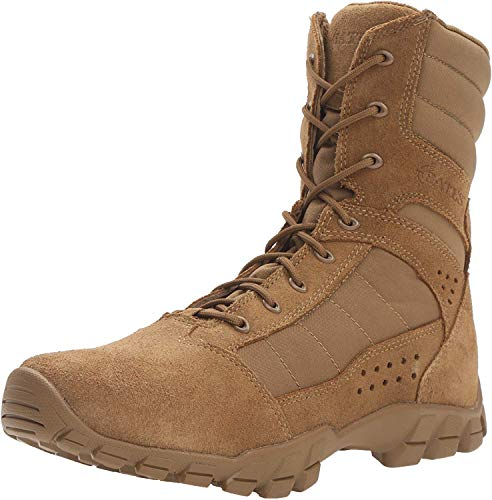 """Bates Men's Cobra 8"""" Hot Weather Military and Tactical Boot, Coyote, 12"""