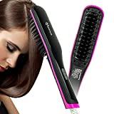 Apalus Hair Straightening Brush, Ceramic Hair...