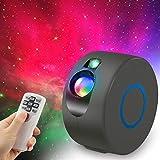Innislink - Proyector de cielo estrellado LED con mando a distancia, 15 modos Starry Galaxy Light Nebuliz, lámpara de proyección nocturna para niños y adultos, dormitorio de Navidad