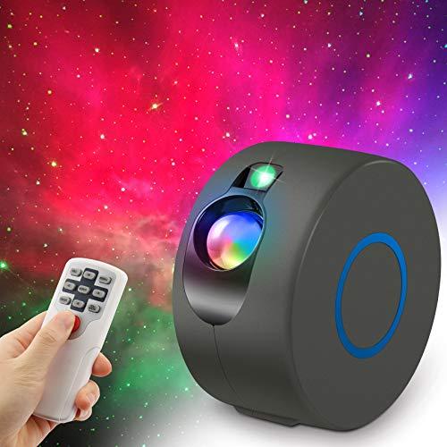 innislink Sternenhimmel projektor, LED Sternenlicht Projektor mit Fernbedienung, 15 Modi Starry Galaxy light Nebelwolke Projektionslampe Nachtlicht für Kinder Erwachsene schlafzimmer Weihnachten Party