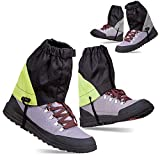 Anti Tear Low Ankle Gaiters for Hiking - 2 PAIRS Leg Boots Cover...