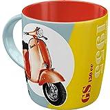 Nostalgic-Art Tazza da caffè retrò Vespa – GS 150 Since 1955 – Idea Regalo per Amanti degli Scooter, 330 milliliters, in Ceramica, Design Vintage