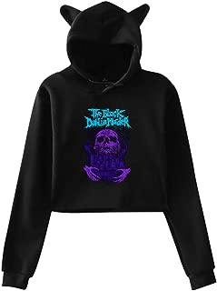 The Black Dahlia Murder Women Cat Ear Hoodie Sweater Stylish Long Sleeve T Shirt