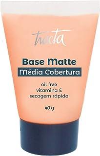 Base Matte Média Cobertura Número 02, Tracta, Pele, 40ml