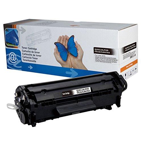 1 toner di ricambio per HP Laserjet Q2612a 12A M1005MFP M1319F MFP 1010 1012 1015 1018 1020 1022 3015 3020 3030 3050 3052 30555 Canon LBP2 Canon LBP2 0 LBP2. 900i - Black 2.000 pagine.
