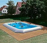 Zodiac ippopotamo originale rettangolare piscina 16.55m x 8.25m