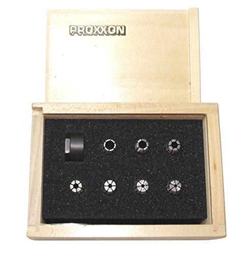 PROXXON 24154 Satz Mehrbereichs Spannzangen Typ ER 11 für Proxxon Drehmaschine FD150/e