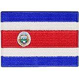 Die Republik Costa Rica Flagge National Bestickter Aufnäher zum Aufbügeln/Annähen