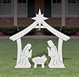 FrontYard Originals Holy Family Outdoor Nativity Set - Medium
