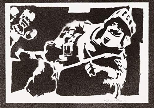 Prinz Clash Royale Poster Plakat Handmade Graffiti Street Art - Artwork