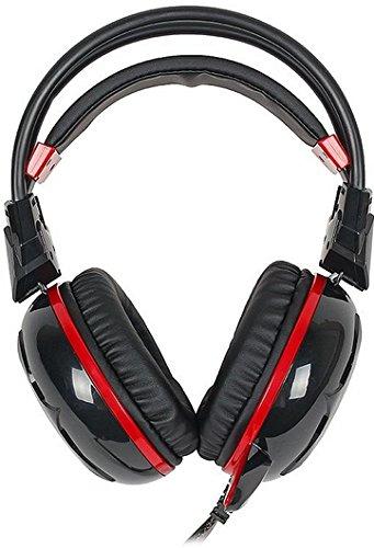Bloody G300 A4Tech Stereophonisch Kopfhörer schwarz/rot