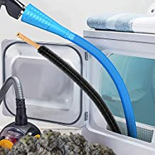 Dryer Vent Cleaner Kit and Flexible Dryer Lint Brush Vacuum Hose Attachment Brush Lint Remover Power Washer and Dryer Vent Vacuum Hose