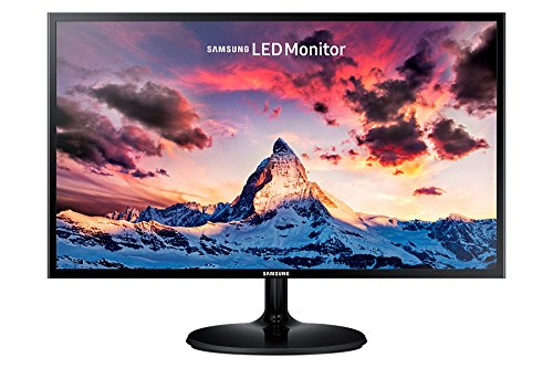 Samsung S24F352 - Monitor de 24' (Full HD, 4 ms, 60 Hz, LED, 16:9, 1000:1, 250 cd/m², 178°, HDMI, Base Redonda) Negro