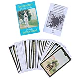 Tarjetas Tarot English Full Inglés Oracle Tarjeta Table Deck Games para Party Playing Card Board Guidence Guidance Divination Fate Juego