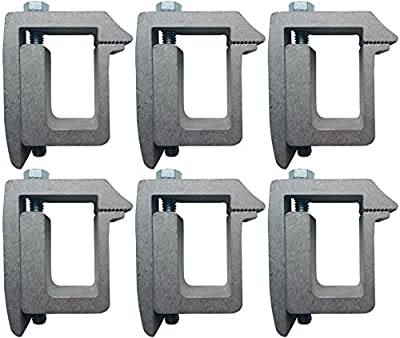 JQuad Truck Cap Topper Mounting Clamp (6 Pack)
