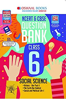 Oswaal NCERT & CBSE Question Bank Class 6, Social Science (For 2021 Exam) by [Oswaal Editorial Board]