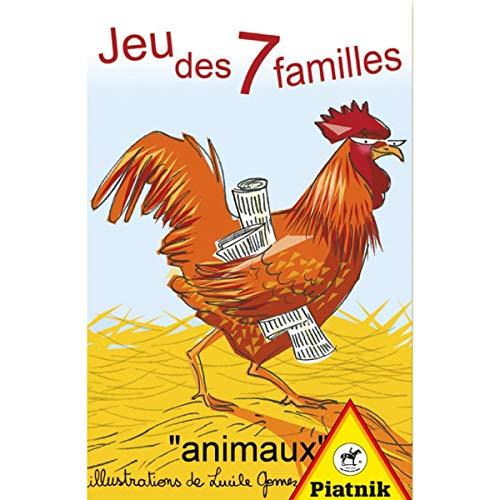 Piatnik Cartes-Jeu de 7 Familles, 4882
