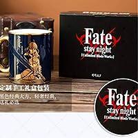 Fate stay Night海外正規品 SABRE コップ お箱付き